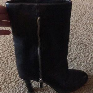 Black Franco Sarto Boots